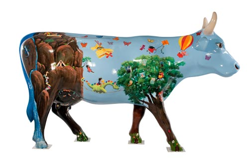 the SCBWI cow