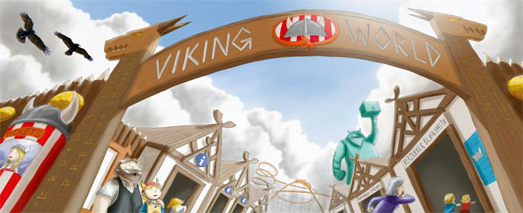 The Last Viking Returns: Viking World