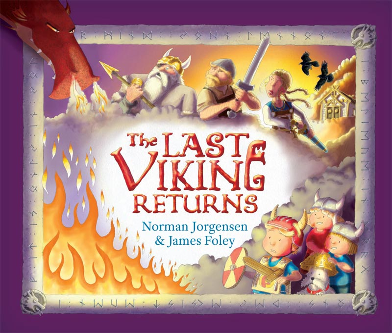 The Last Viking Returns - front cover