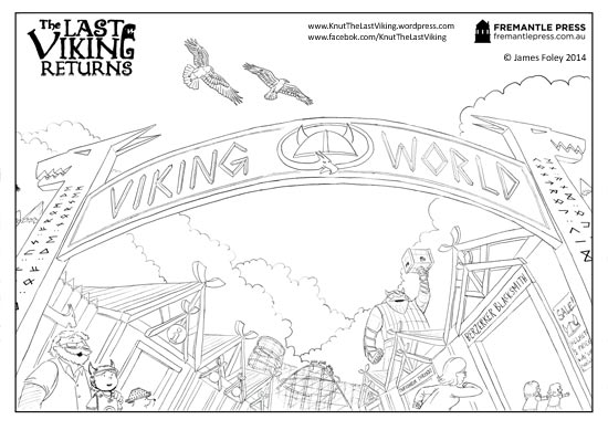 colouring-sheet_Viking-World