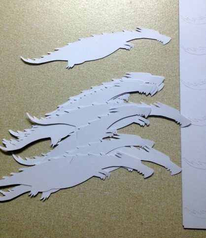 dragons cut-out