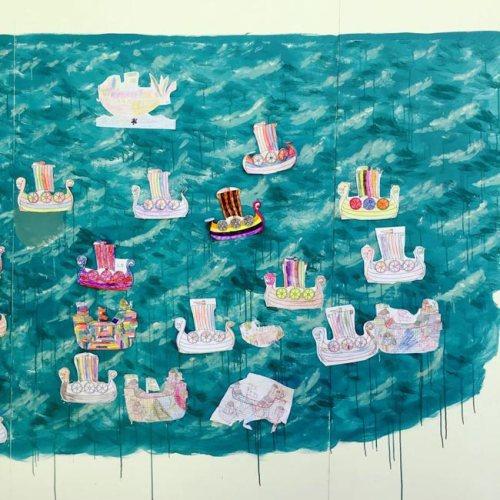 an armada appears