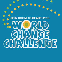 Room To Read World Change Challenge