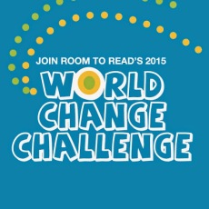 Room to Read World Change Challenge logo 2015