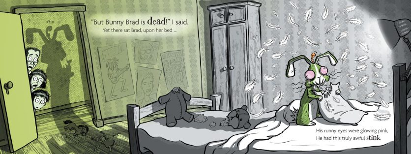 'My Dead Bunny' (2015), But Bunny Brad Is Dead I Said