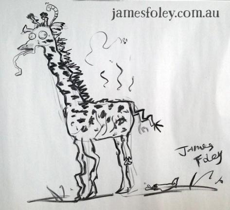 my dead giraffe