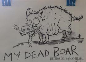 my dead boar