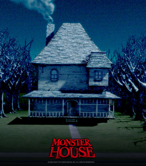 The house from 'Monster House'
