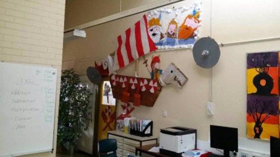 Viking room decorations