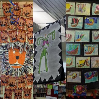 Displays at South Lake PS