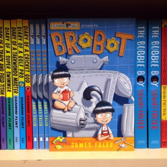 Brobot in bookstores