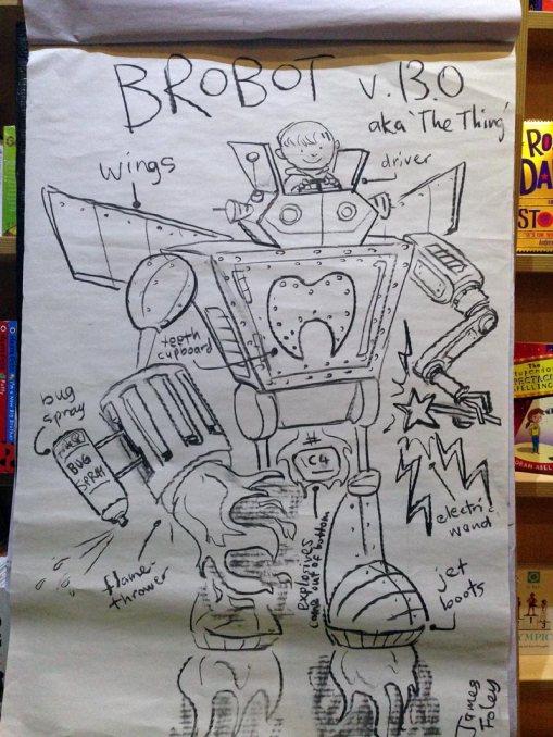Brobot v13.0, Beaufort St Bookshop