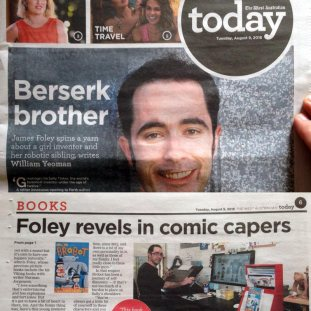 Front page, Today section
