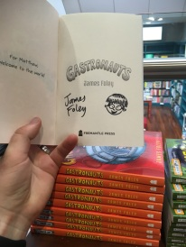 Signed books at Better Read Than Dead, Newtown, NSW