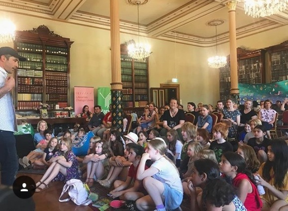 At the inaugural Kids' Book Fest, organised by Australia's oldest children's specialist bookshop, The Little Bookroom
