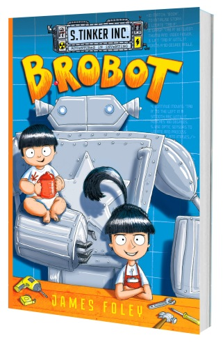 Brobot book cover - 2nd edition
