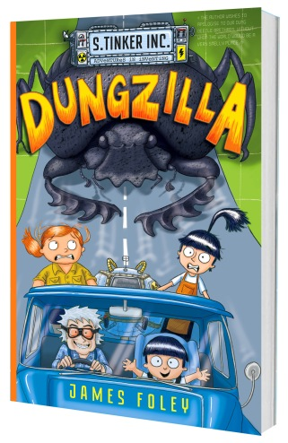 Dungzilla 2nd edition cover