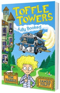 cover image for Toffle Towers, book 1: Fully Booked