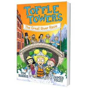 cover image for Toffle Towers, book 2: The Great River Race
