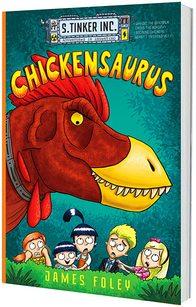 Chickensaurus front cover