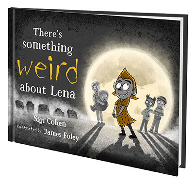 There's Something Weird About Lena - book cover