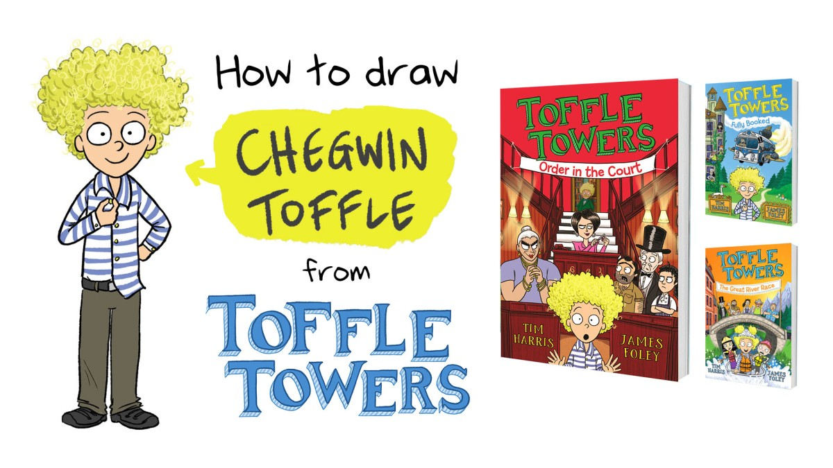 Toffle Towers: how to draw Chegwin