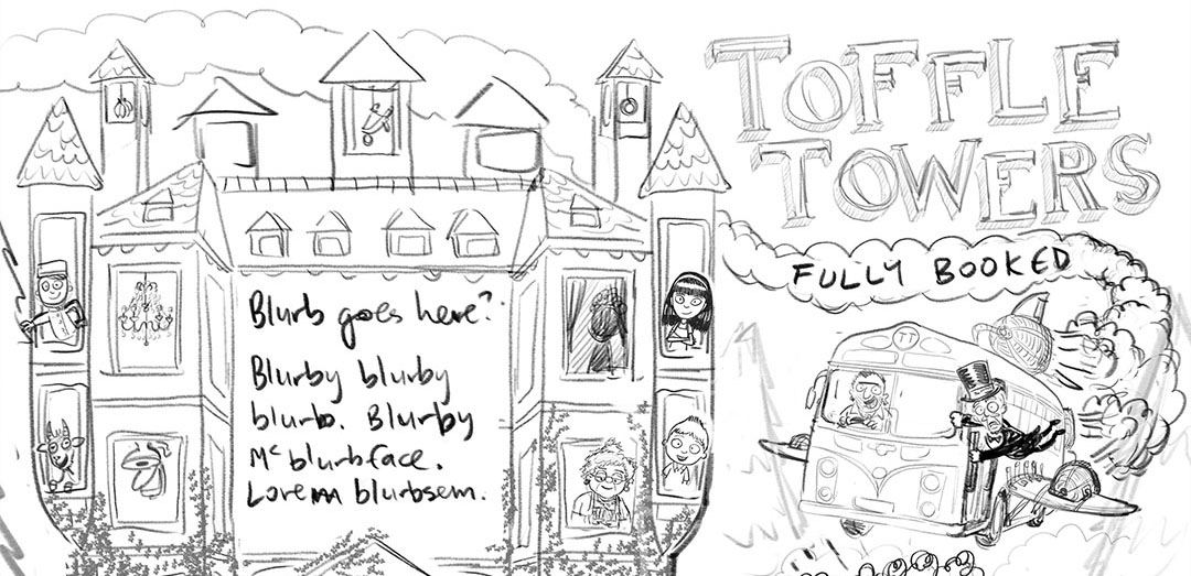 Toffle Towers: designing the cover