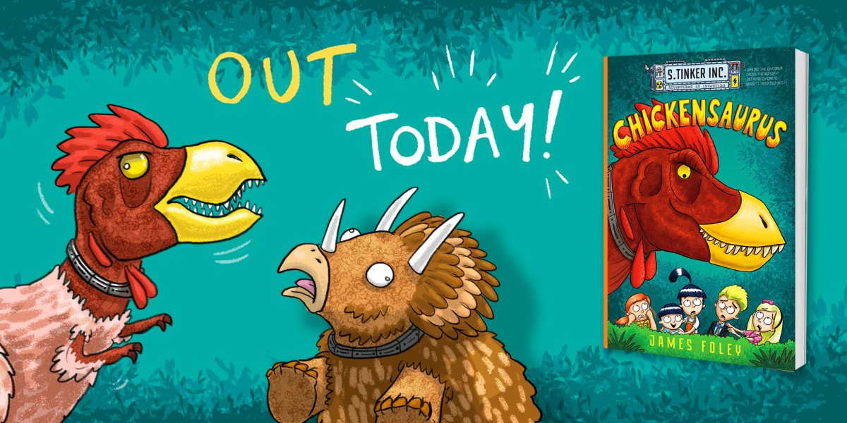 Chickensaurus is out TODAY!