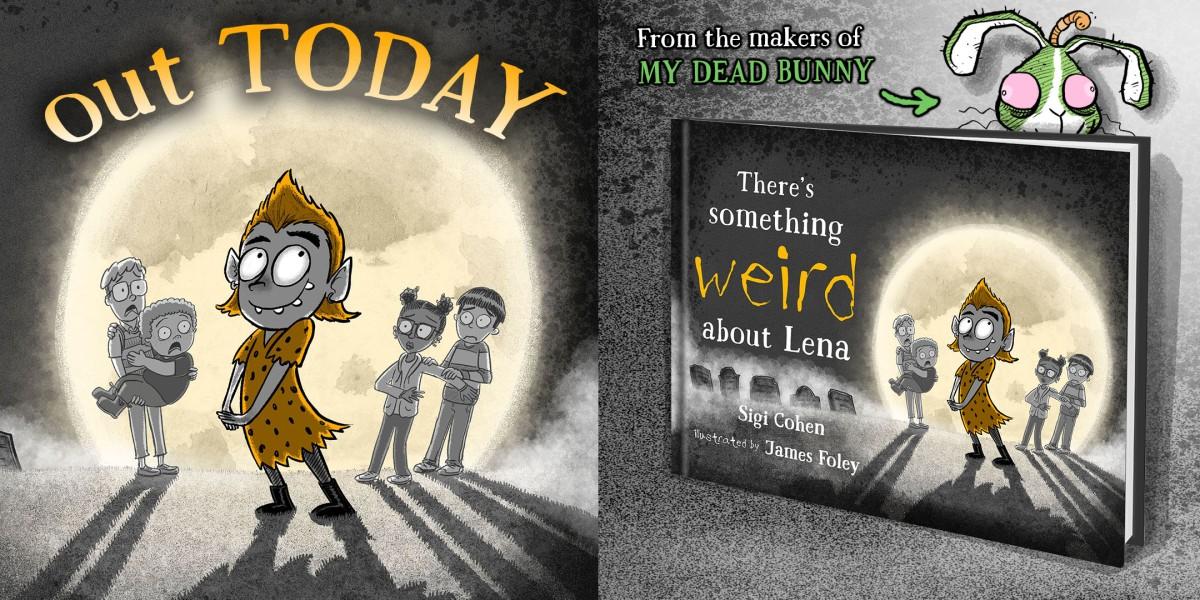 There's Something Weird About Lena is out TODAY!