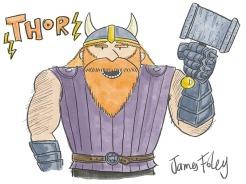 Thor drawing demo-4web